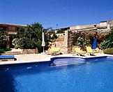 Mediterranean house with swimming pool