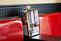 Jukebox in cafe