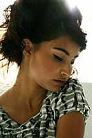 Portrait of young stylish woman (thumbnail)