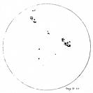 Galileo´s sunspot observations. The Italian astronomer Galileo Galilei 1564_1642 was one of the first people to observe sunspots, using his telescope ...