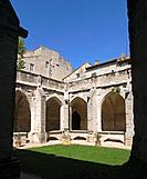 Cloister of the Collégiale, Villeneuve-lez-Avignon, France