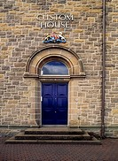 Entrance to the Custom House, Derry City, Co Derry, Ireland