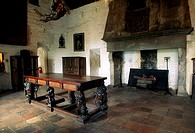 North solar room, Bunratty Castle, County Clare, Ireland, Historic interior