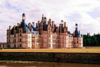 Chambord Ch&#226;teau, Loire River valley, France