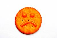Sad face cracker