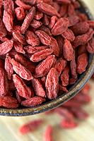 Bowl of goji berries