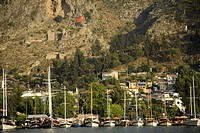 Turkey, Mediterranean town of Fethiye, harbour