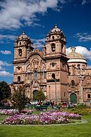 Peru, Cuzco, Plaza_de_Armas and Iglesia de la Compania