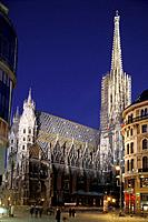 St. Stephen´s Cathedral, Vienna _ Austria Europe