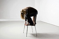 Woman on a chair (thumbnail)