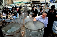 Jerusalem Israel Purification of the Plates for Passover