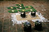 South India_ Tamil Nadu Pongal Festival _Boiling Rice Ceremony Pongal festival falls in the month of January, a festival of Thanks giving to the Sun, ...