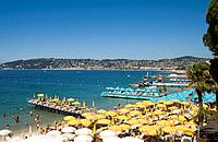 Juan les Pins, South of France, beach Date: 12 02 2008 Ref: WP_B726_110139_0022 COMPULSORY CREDIT: World Pictures/Photoshot