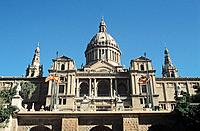 Museu Nacional d´Art de Catalunya, National Art Museum of Catalunya, Barcelona, Spain Date: 02 04 2008 Ref: ZB362_111810_0100 COMPULSORY CREDIT: World...