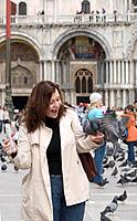 St Marks Square, Venice, Italy Date: 13 04 2008 Ref: ZB636_112652_0018 COMPULSORY CREDIT: World Pictures/Photoshot