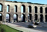 Roman Aqueduct Istanbul Turkey Date: 22 02 2008 Ref: ZB892_111750_0073 COMPULSORY CREDIT: World Pictures/Photoshot