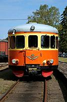 Railbus on railway museum, Nora, Sweden