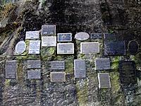 curitiba natural rocks memory wall