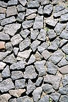 stoned rocky glazed tiles gravel pavement parallellepipids floor wall