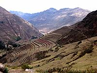 peru ollantaytambo hills and mountains
