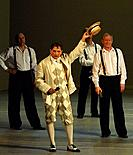 Santiago, Chile (4th January 2008). Presentation of William Shakespeare's 'Noche de Reyes' (Twelfth nigth), directed by Declan Donnellan
