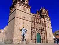 peru puno church cathedral building archietcture