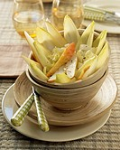 Chicory and pear salad
