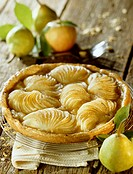 Apple and pear tart