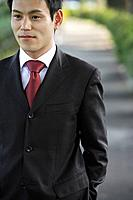 A well-dressed businessman, portrait