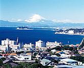 The View, Pan Focus from Hiroyama Park, Shonan, Kanagawa Prefecture, Japan, High Angle View, Pan Focus