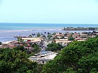 bahia aerial view of the city