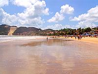 jenipabu beach shore from rio grande do norte