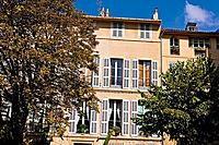 House on the Cours Mirabeau, Aix en Provence, Provence, France