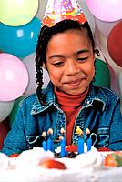 a black girl birthday party and decorations