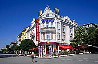 Bulgaria, Black Sea region, Varna, Mac Donald on Boris I Street