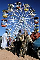 Morocco, High Atlas mountains, Rose Festival in the town of Kelaat M´ Gouna at the entrance of the Rose Valley