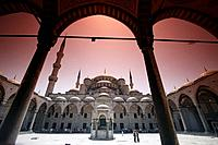 Blue Mosque, Istanbul. Turkey