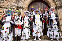 Carnival, Almiruete. Tamajon, Guadalajara province, Castilla-La Mancha, Spain