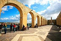 Barrakka Gardens, Valletta. Malta