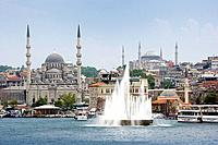 The Golden Horn, Istanbul, Turkey, Europe