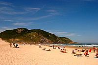 Beach Costão do Santinho, Florianópolis, Santa Catarina, Brazil