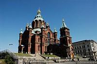 Uspenski cathedral, Helsinki, Finland, Cathedral of the Dormition