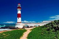 Itapuã Lighthouse, Itapuã Beach, Salvador, Bahia, Brazil