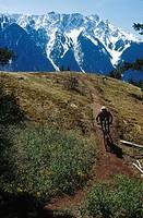 Mountain Biking near Pemberton, B.C.