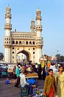 India. Hyderabad. Charminar.