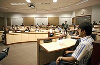 India. Hyderabad. Hi_Tech City. Indian School of Business. Classroom
