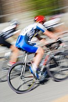 Bike race, Sun Valley, Idaho, USA