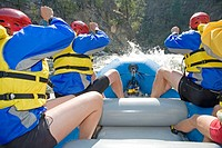 Rafting, South Fork of the Payette River, Idaho, USA