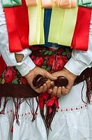 Danzante (dancer), Majaelrayo, Guadalajara province, Spain