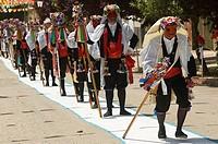 Pecados (Sins), Fiesta de los Pecados y Danzantes (festival of sins and dancers), Camuñas, Toledo province, Spain